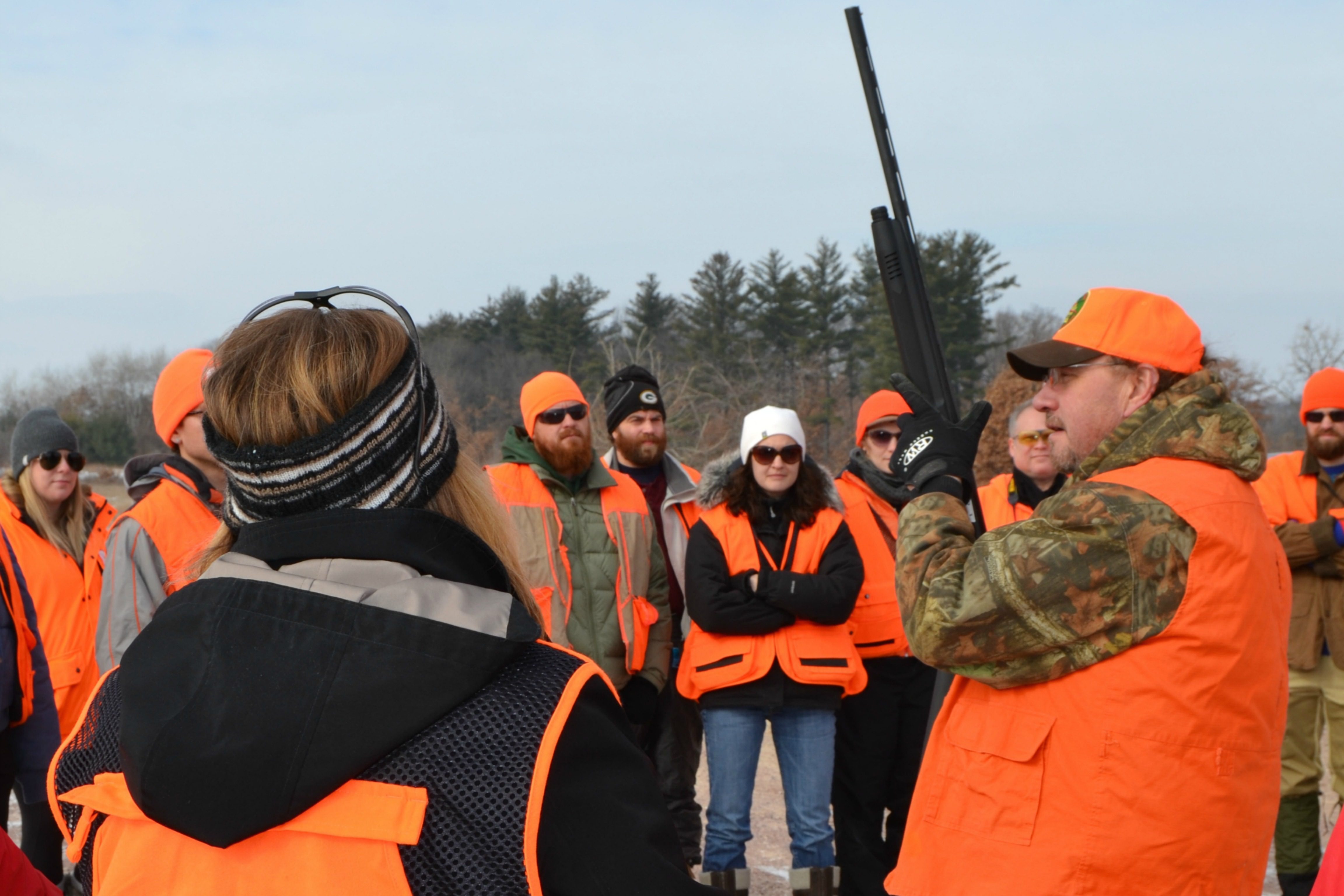 UW-Madison sponsored a hunting event in Baraboo in conjunction with a massive open online course.