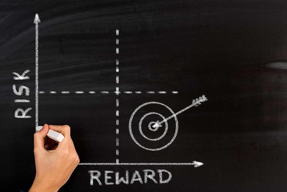 risk reward graphic