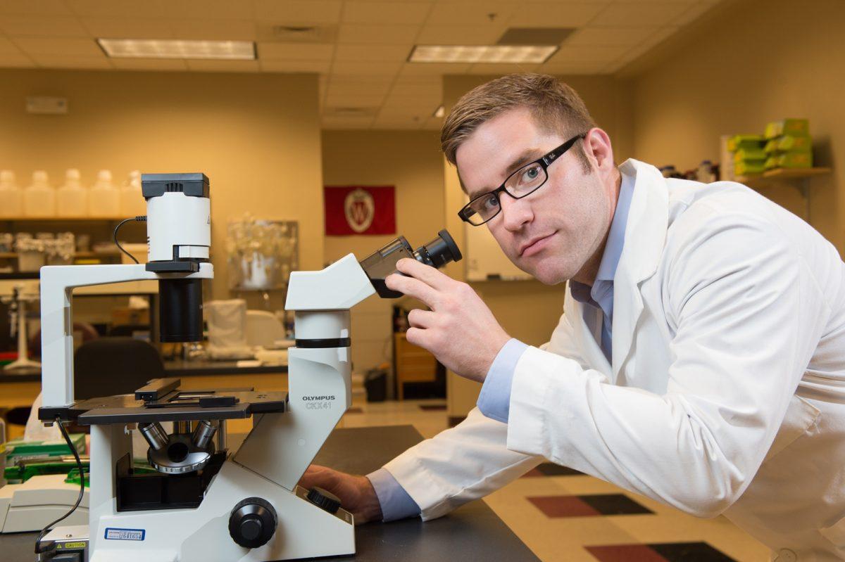 Michael Matter, graduate of MS in Biotechnology Program