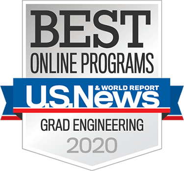 U.S. News & World Reporting Best Online Programs Grad Engineering 2020