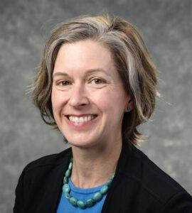 Kristin Eschenfelder, professor and associate director of UW–Madison's School of Computer, Data & Information Sciences (CDIS)